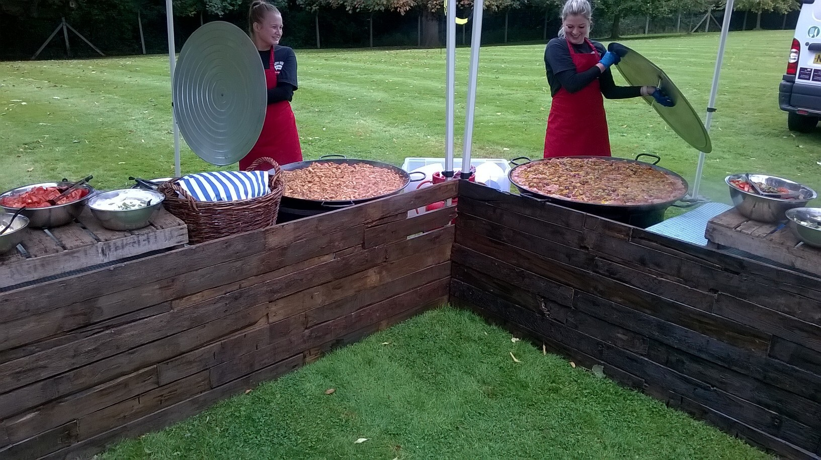 Paella Pan Catering